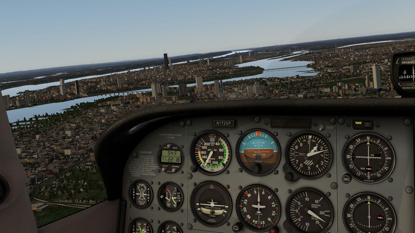 Реалістичний авіасимулятор X plane 11